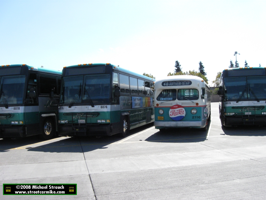 Alameda Contra Costa Transit District Ac Transit Gmc Old