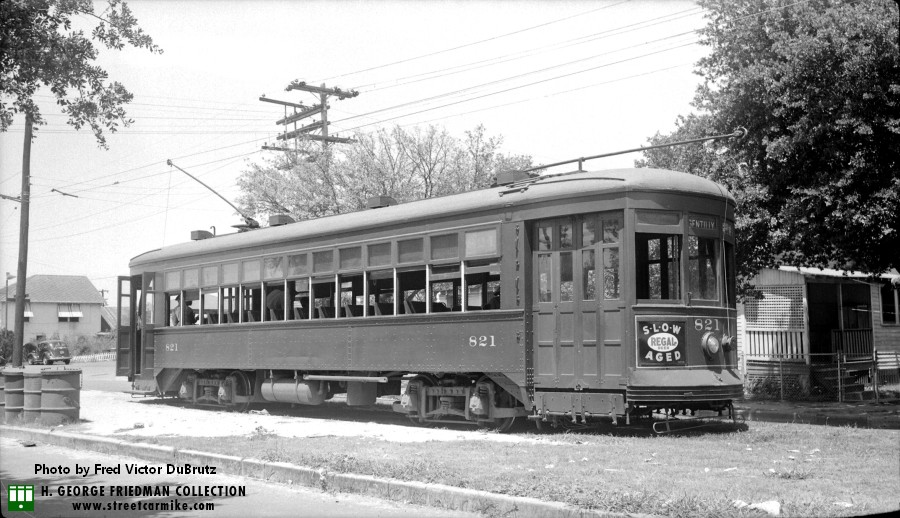 New Orleans Gentilly Streetcar And Franklin Bus Lines Streetcarmike Com
