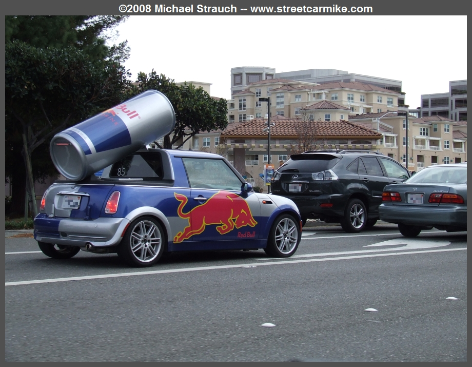 Red Bull Energy Drink Vehicles streetcarmike