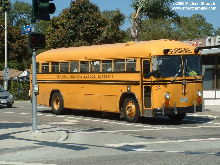 Ventura Unified School District Buses @ streetcarmike.com