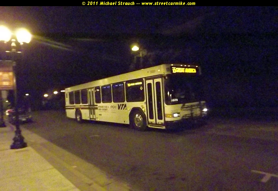 Santa Clara Valley Transportation Authority Gillig Low
