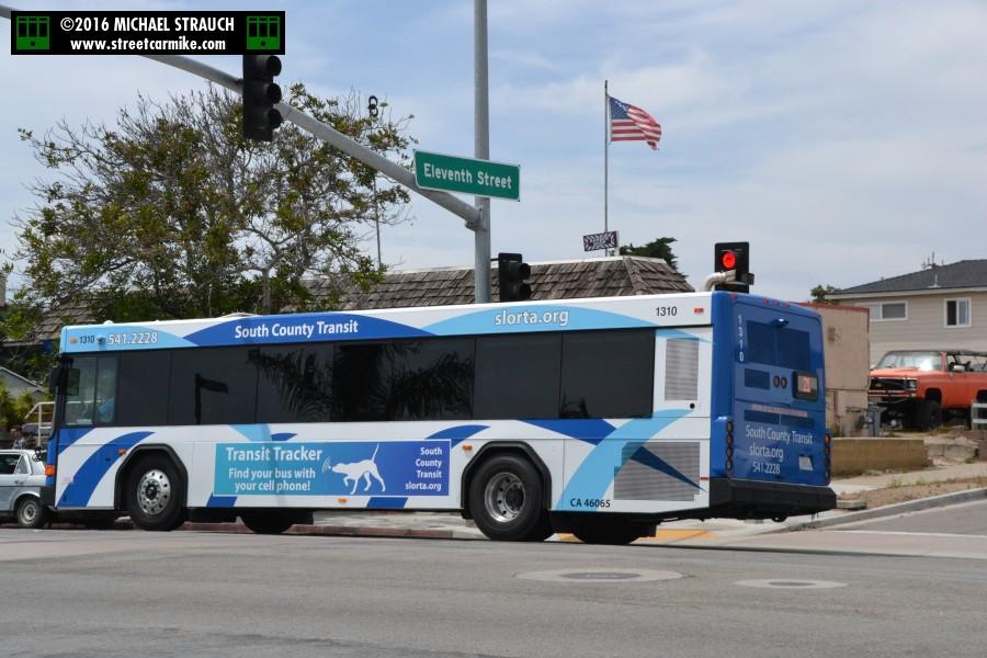 San Luis Obispo Regional Transit Authority (RTA) South