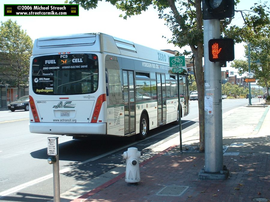 Alameda Contra Costa Transit District Ac Transit Van