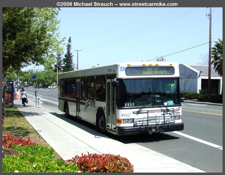 Santa Clara Vta Gillig Lf Buses 9951 9953 Streetcarmike Com